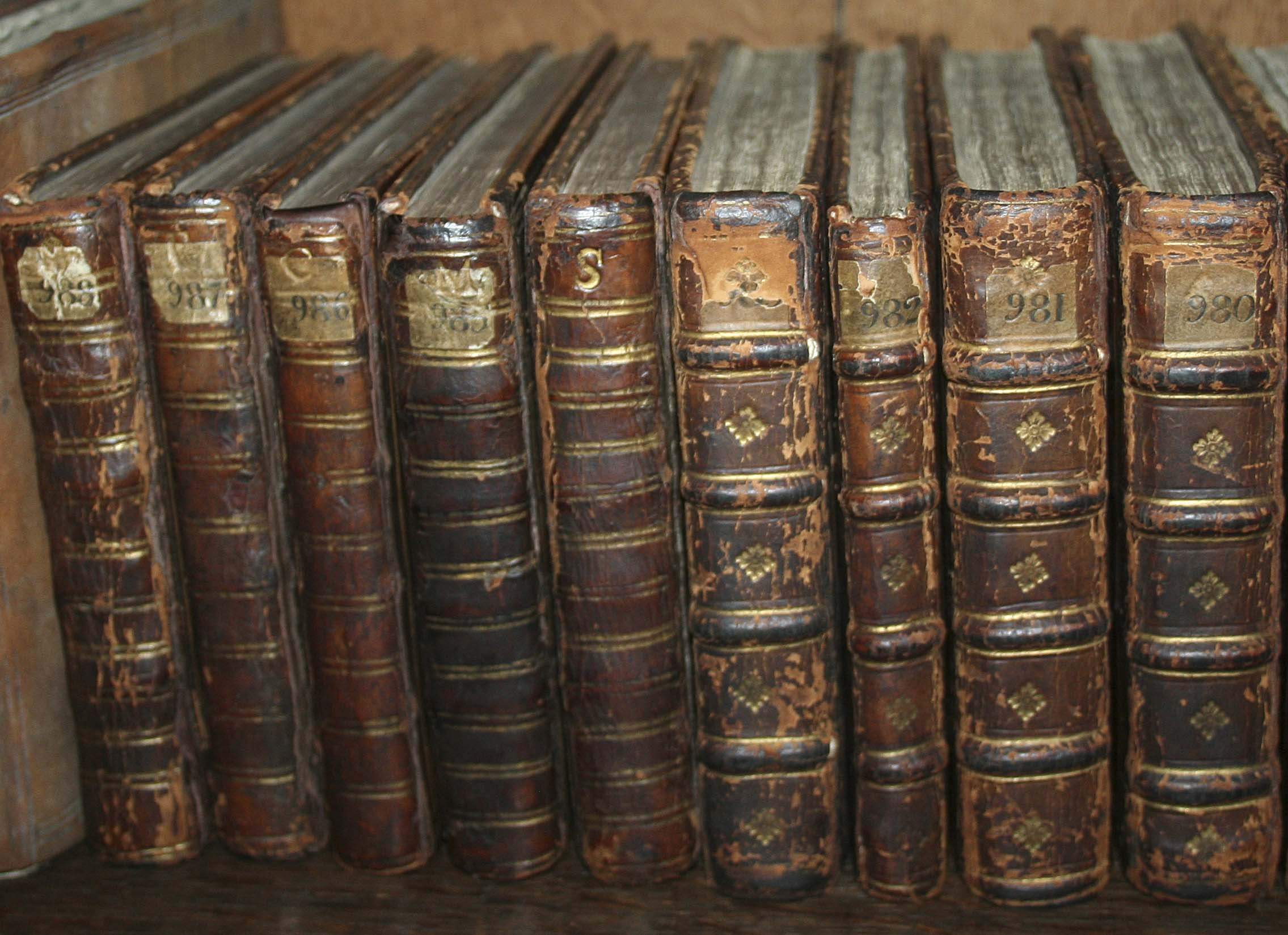 Tudor Partbooks in Christ Church College Library